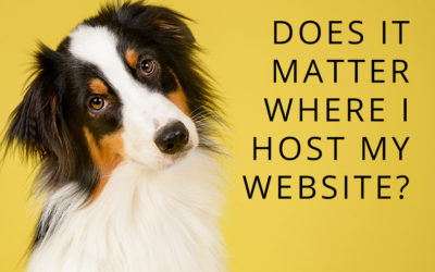 Does it matter where I host my website?
