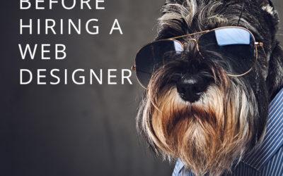 Key Q & A's before hiring a web designer